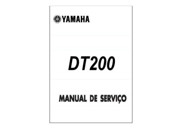 Yamaha DT200 service manual
