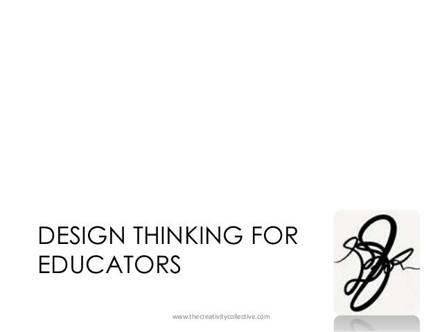DESIGN THINKING FOR EDUCATORS www.thecreativitycollective.com