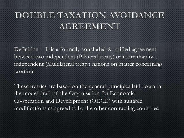 Dtaa Double Taxation Avoidance Agreement