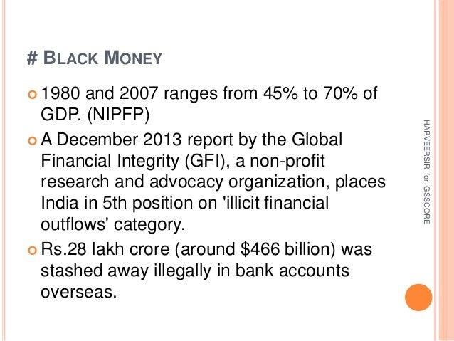 DTAA black money bankruptcy code Slide 3
