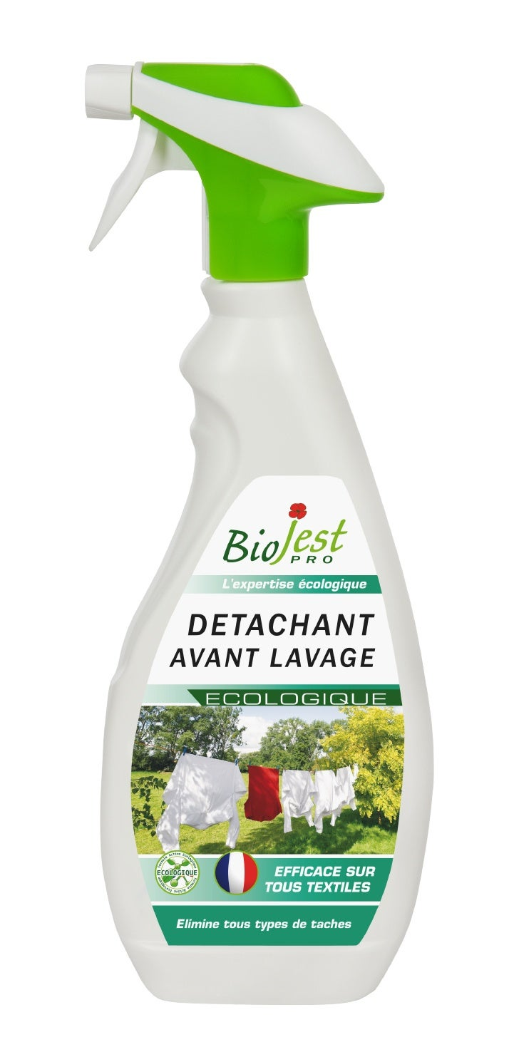 Détachant avant lavage écologique Biojest Pro spray 500 ml