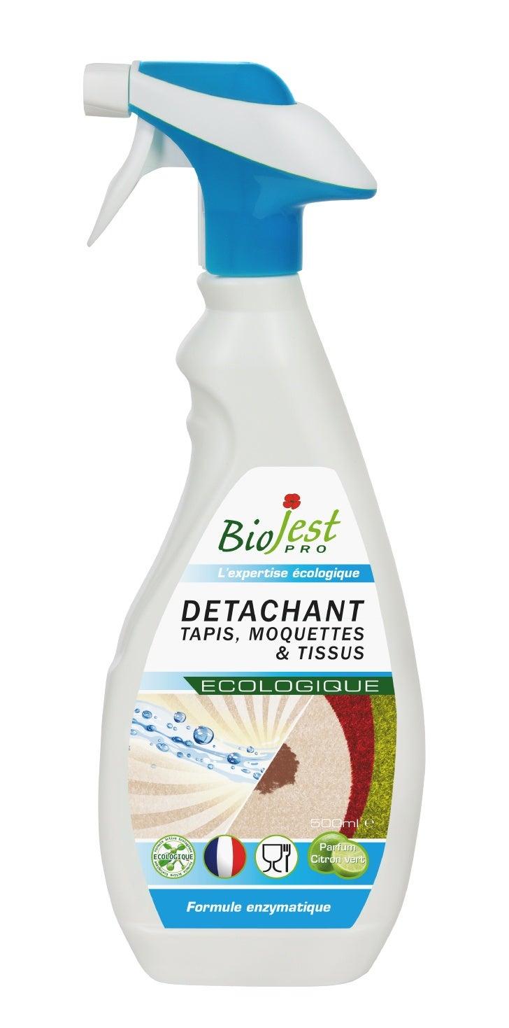Détachant tapis moquettes et tissus écologique Biojest Pro spray 500 ml