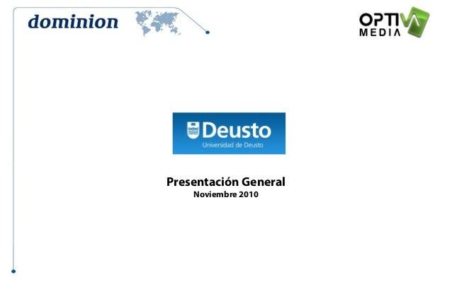 Presentación General Noviembre 2010