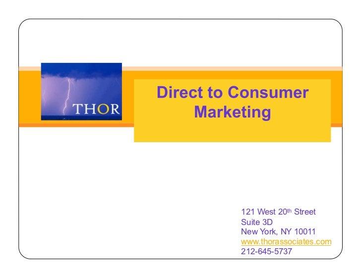121 West 20th StreetSuite 3DNew York, NY 10011www.thorassociates.com212-645-5737