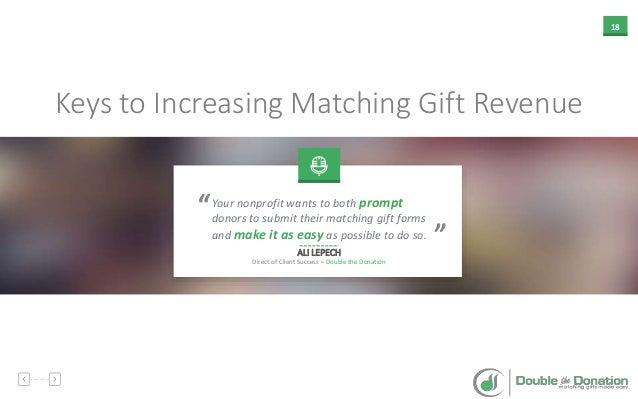 How to Leverage Matching Gifts to Accelerate Your Fundraising ROI