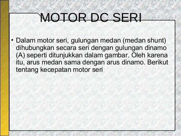 Motor Dc
