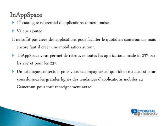 Tendances & Innovations sur les applications mobiles - #DigitalThursday #Edition8 Slide 2