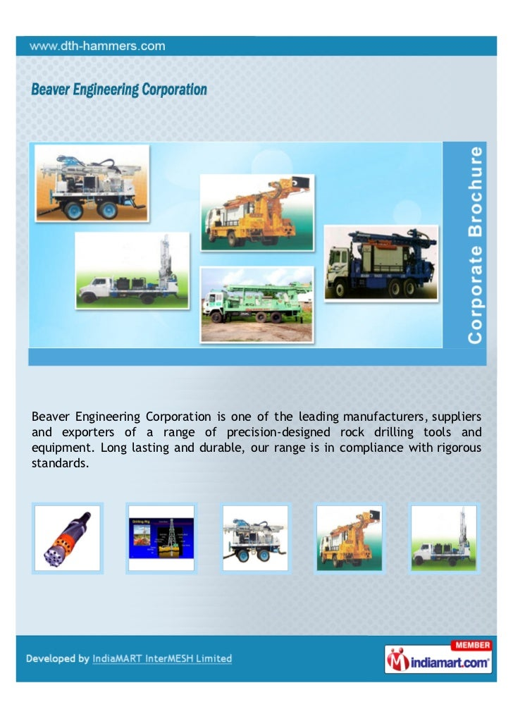 Beaver Engineering Corporation is one of the leading manufacturers, suppliersand exporters of a range of precision-designe...