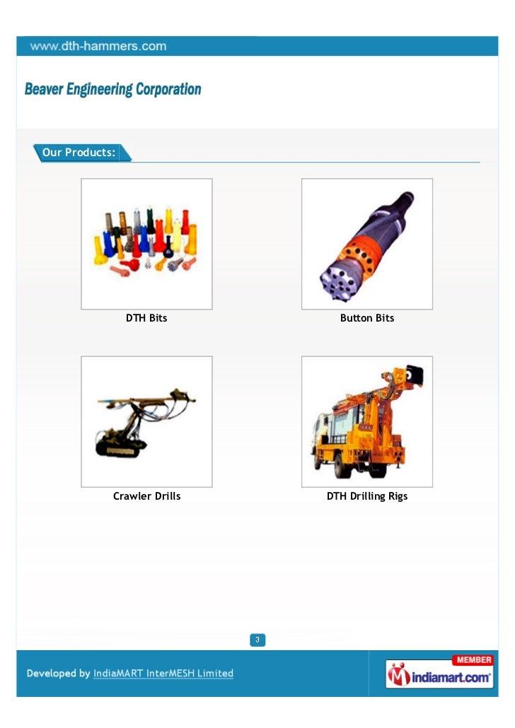 Beaver Engineering Corporation, Hyderabad, Tools and Equipment Slide 3