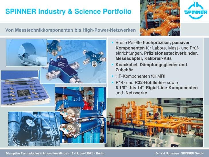 DTIM 2012 Pioneering Technologies - Kai Numssen --Abgabeversion