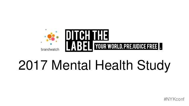 2017 Mental Health Study #NYKconf