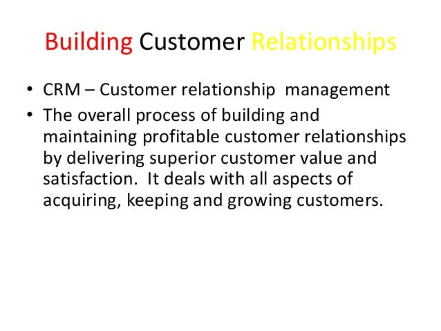 Relationship between customers perceived values satisfaction