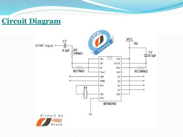 Dtmf based home automation system using microcontroller ppt