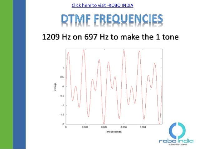 DTMF - Dual Tone Multi Frequency Signaling and AVR Atmel Atmega16mult…