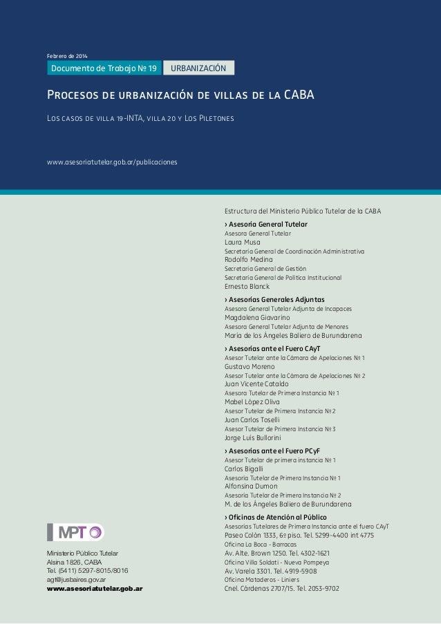 Estructura del Ministerio Público Tutelar de la CABA › Asesoría General Tutelar Asesora General Tutelar Laura Musa Secreta...