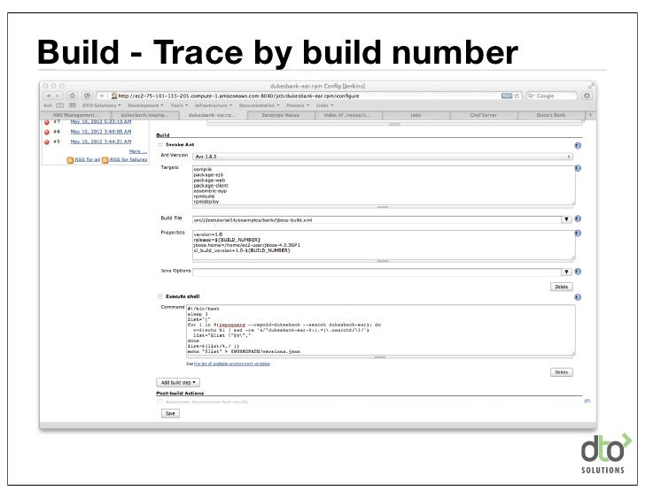 Build - Trace by build number