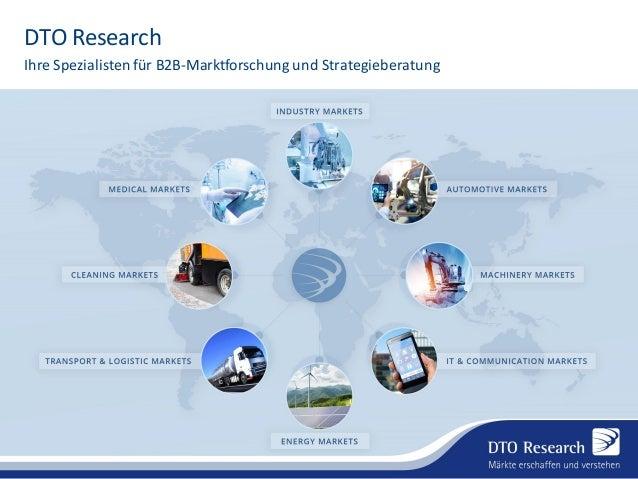 DTO Research Ihre Spezialistenfür B2B-Marktforschung und Strategieberatung