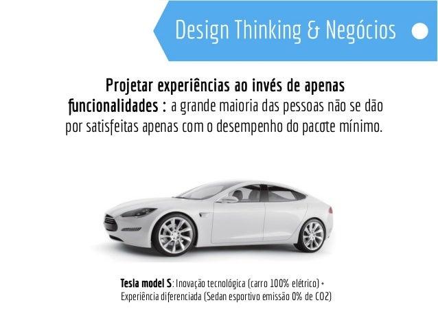 Design Thinking - Empatia, experimentação e Colaboração