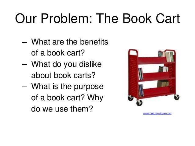 Design Thinking: Redesign the Book Cart