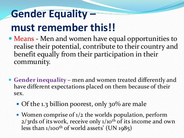 gender inequality in developing countries A few recent development economics articles and papers that caught  and  informative survey on gender inequality in developing countries.