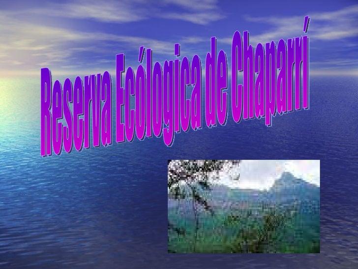 Reserva Ecólogica de Chaparrí