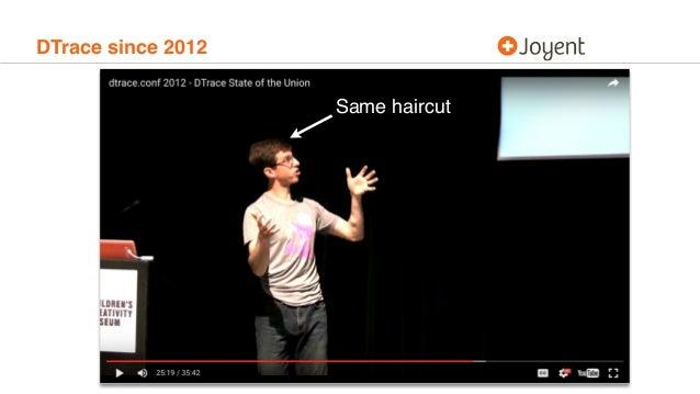 DTrace since 2012 Same haircut