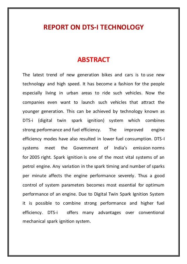 case study on dtsi engine
