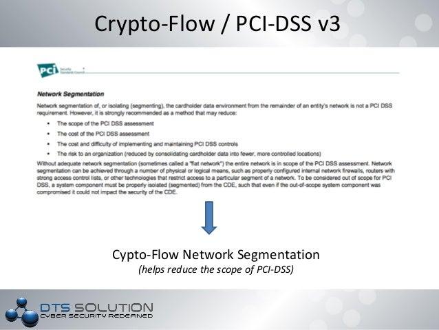 DTS Solution - Crypto Flow Segmentation addressing NESA IAF and ISO27…