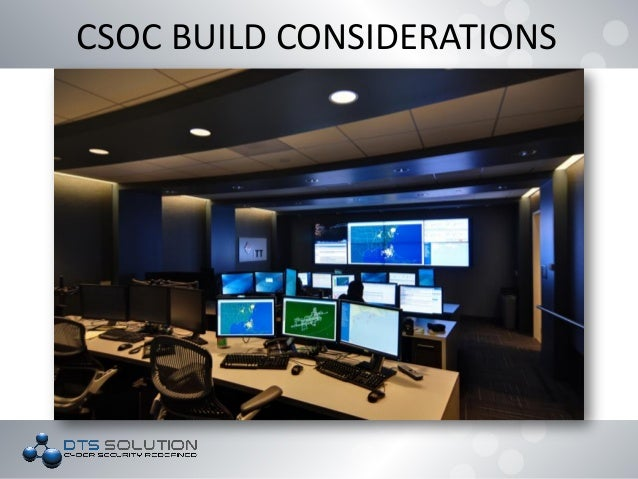 DTS Solution Building a SOC Security Operations Center
