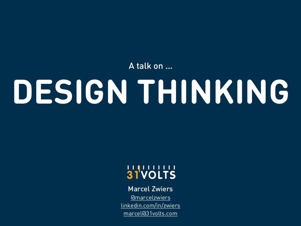 My take on Design [Thinking]