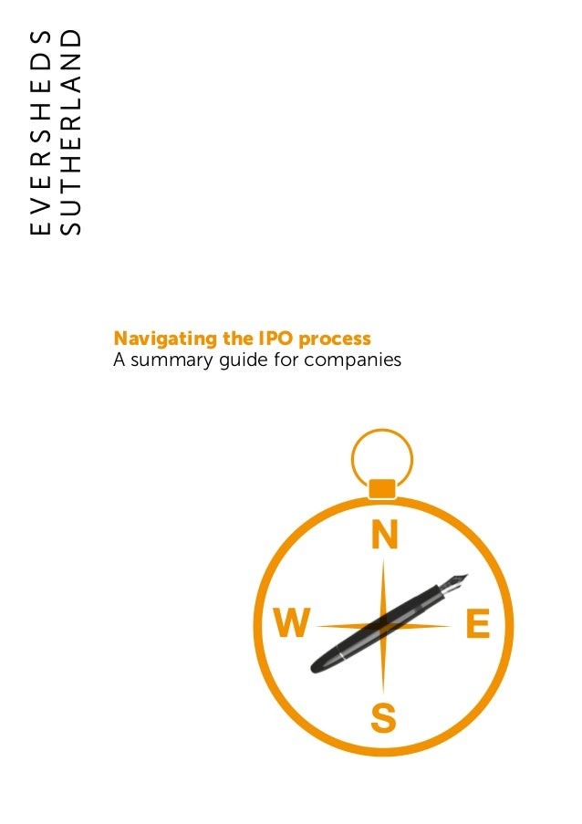 Navigating the IPO process A summary guide for companies