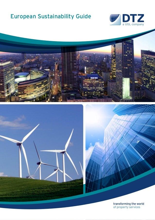 European Sustainability Guide