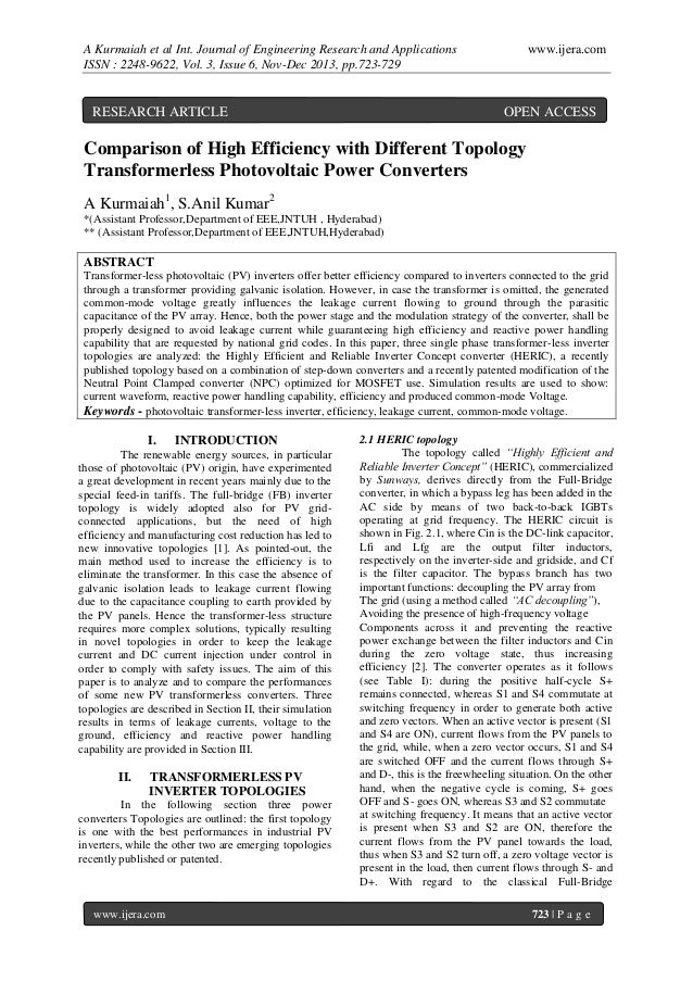 A Kurmaiah et al Int. Journal of Engineering Research and Applications ISSN : 2248-9622, Vol. 3, Issue 6, Nov-Dec 2013, pp...
