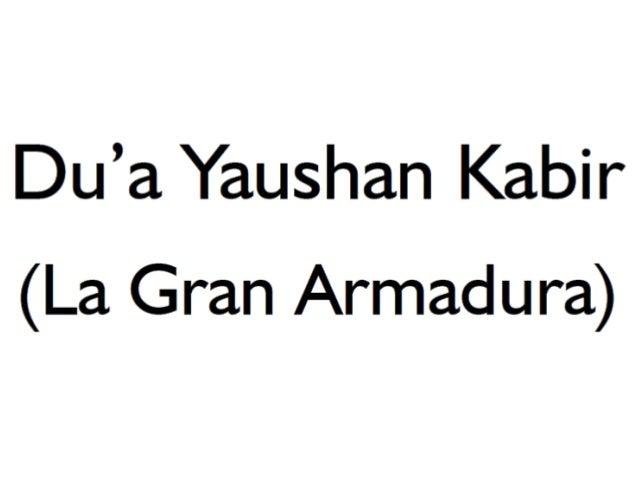Du3a yaushan kabir