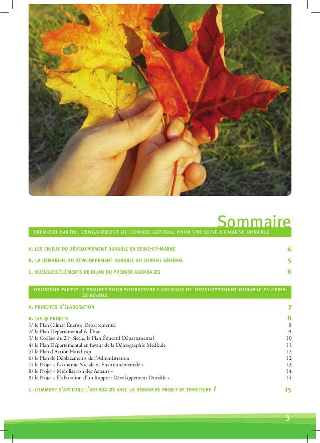 Seine et Marne Agenda 21 Slide 3