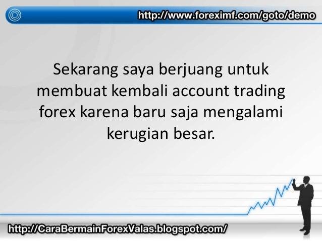 Perdagangan forex sekarang