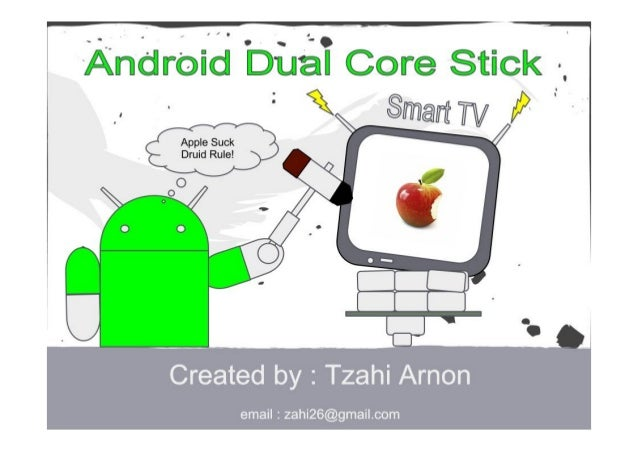 Dual Core Android TV Stick