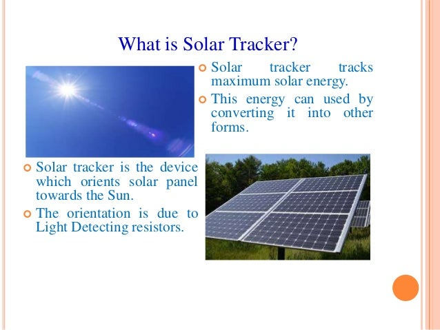 Dual Axis Solar Tracking System Using Microcontroller