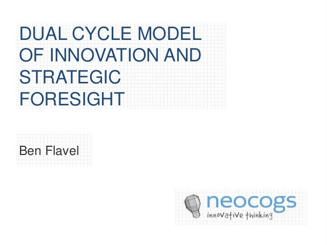 DUAL CYCLE MODELOF INNOVATION ANDSTRATEGICFORESIGHTBen Flavel