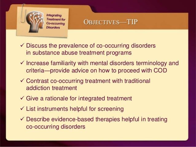 the prevalence of co occurring disorders essay