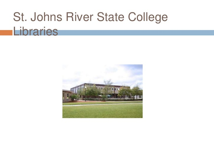 St. Johns River State CollegeLibraries