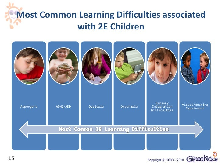 Dual Exceptionality Presentation - Gifted Education Webinar