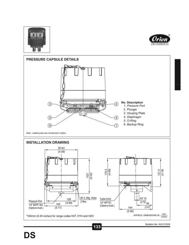 Dual High range Pressure Switch DS series Slide 2