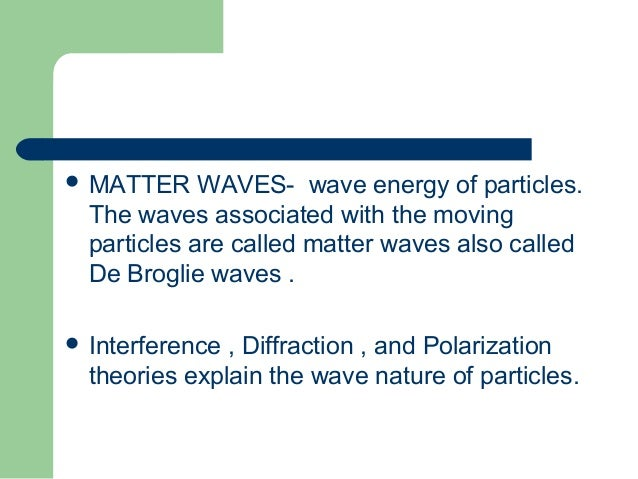 Explain The Dual Nature Of Light And Matter