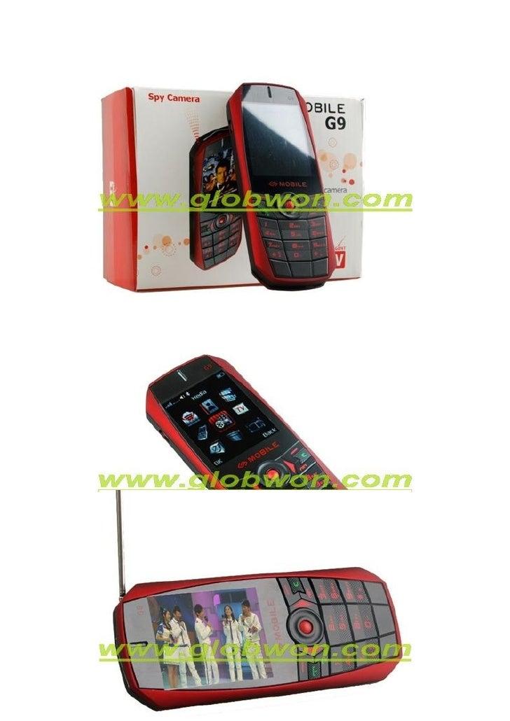 Dual Sim Dual CaméRa Analogique Tv Mobile Slide 2