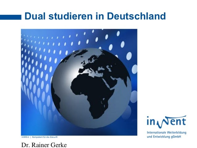 Dual studieren in deutschland for Studieren in deutschland