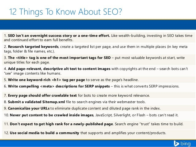 Search Engine Optimization 101 with Duane Forrester