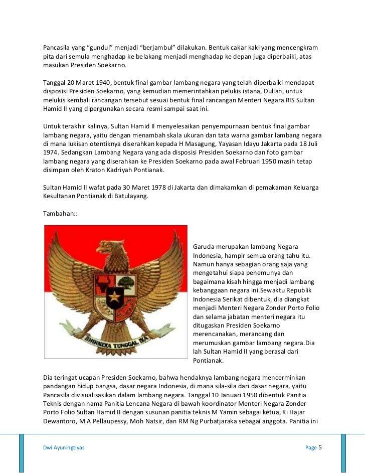 Burung Garuda Sebagai Lambang Negara