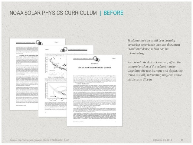 NOAA SOLAR PHYSICS CURRICULUM | BEFORE  Studying the sun could be a visually arresting experience, but this document is d...