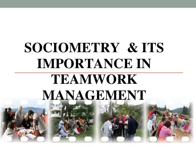 SOCIOMETRY & ITS IMPORTANCE IN TEAMWORK MANAGEMENT